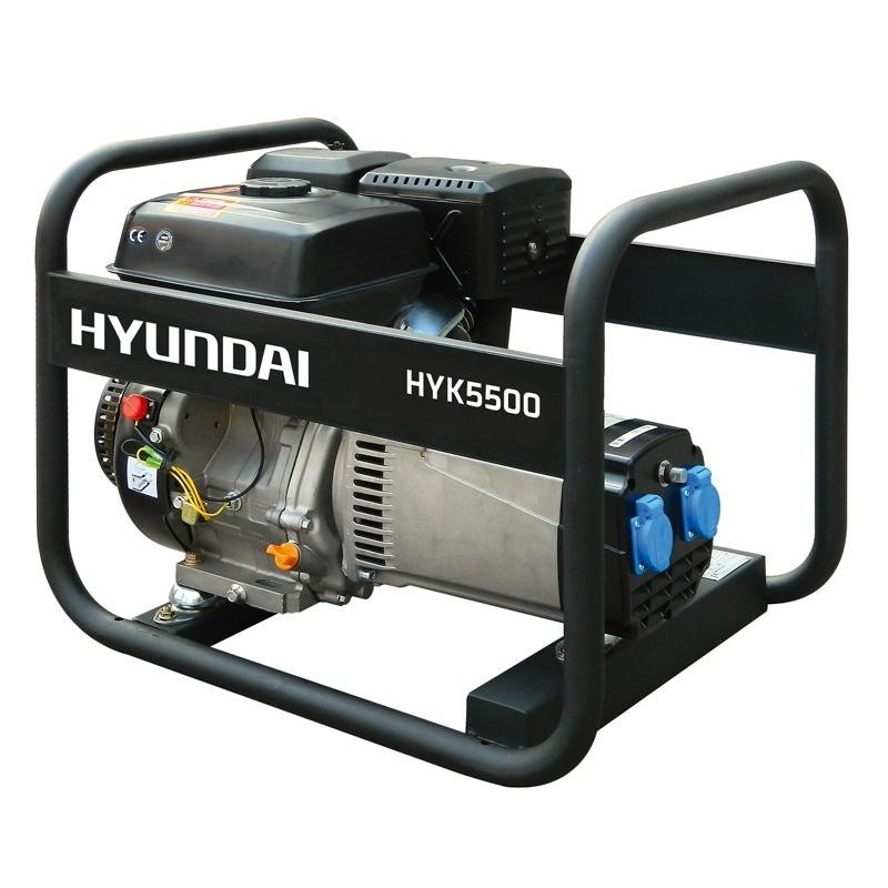 HYUNDAI HYK5500 single phase electric generator