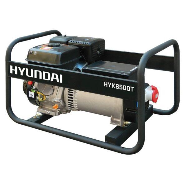 Generador electrico HYUNDAI HYK8500T Trifásico Máx 8,25 kVA