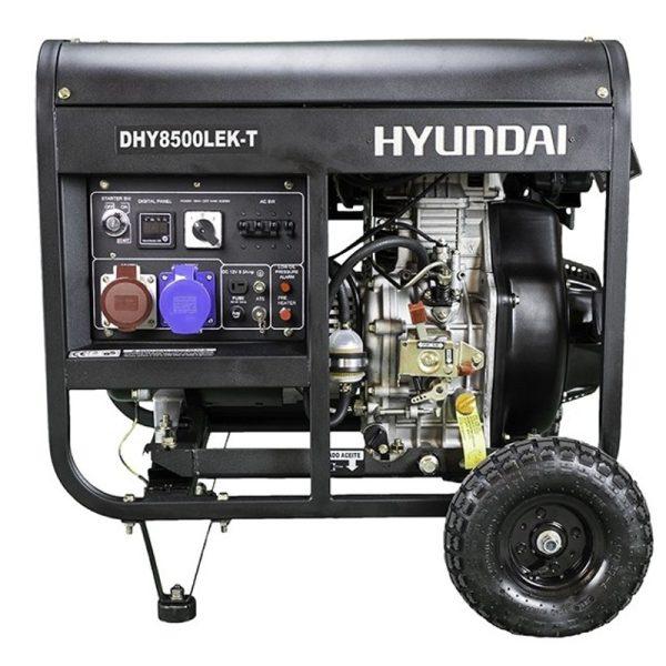Electric generator Hyundai DHY8500LEK-T Diesel Trif AE