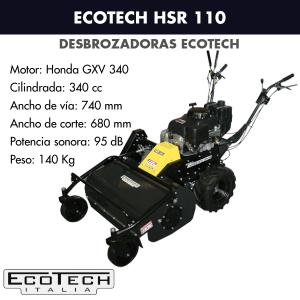 Desbrozadora de ruedas Ecotech HSR 110