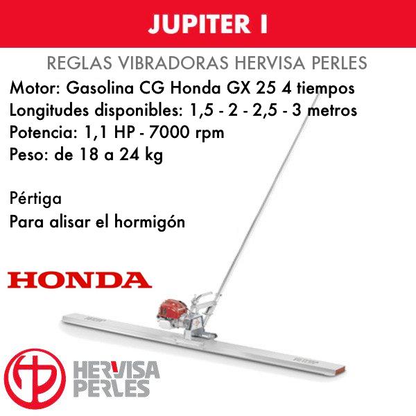 Hervisa Perles JUPITER I Honda Vibrierender Betonestrich 1,5 - 2 - 2,5 - 3 Meter