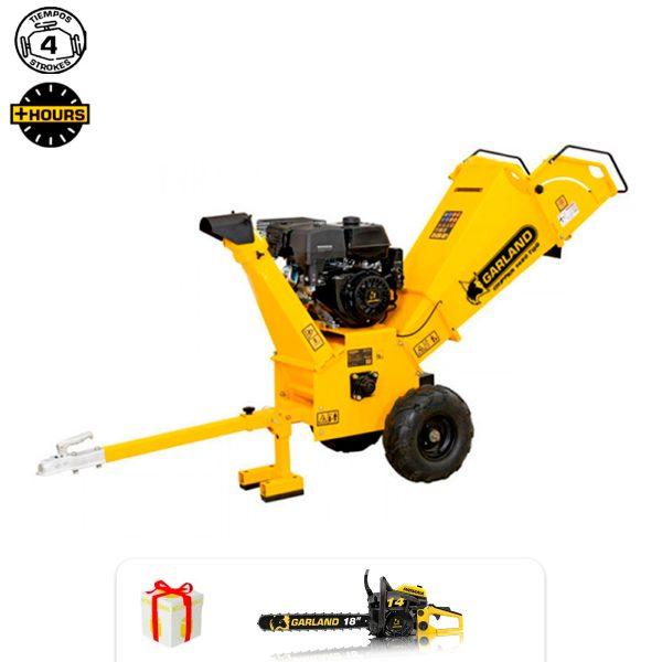 Trituradora de ramas Garland CHIPPER 1480 TQG-V20