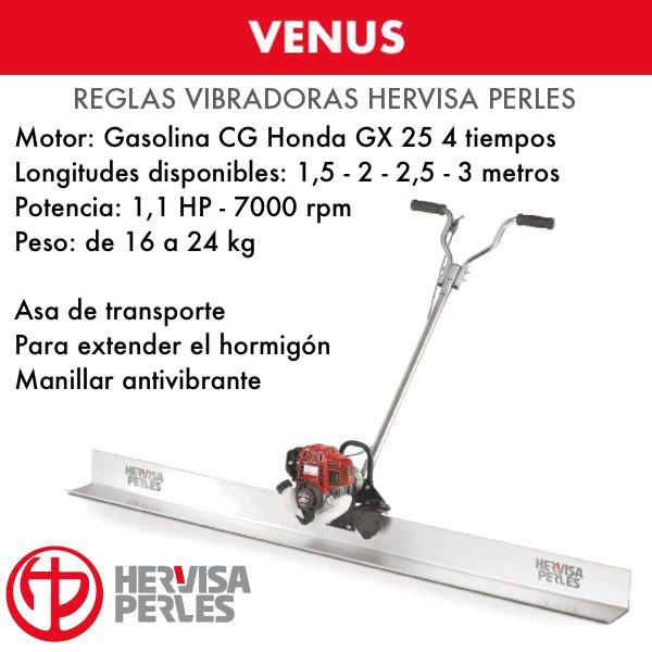 Hervisa Perles VENUS Honda Vibrierender Betonestrich 1,5 - 2 - 2,5 - 3 Meter