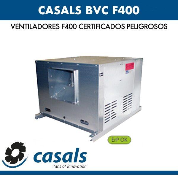 Ventilador Casals BVC F400