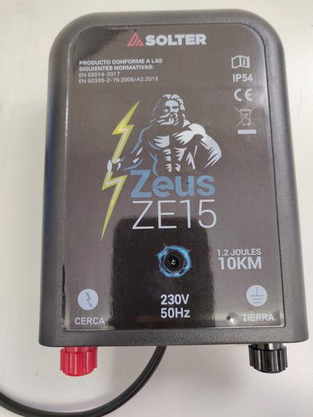 Pastor eléctrico Solter ZEUS ZE-15 con cable