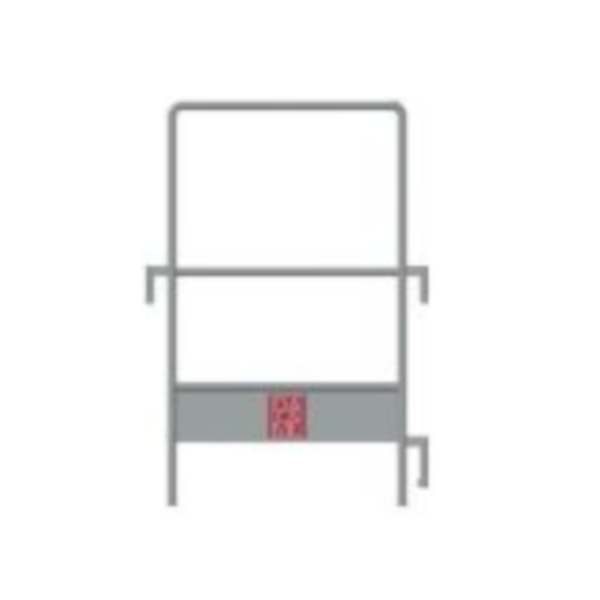 Seitengeländer DUO 45 BB (Sockelleiste) (GA)