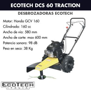 Desbrozadora de ruedas Ecotech DCS 60 TRACTION