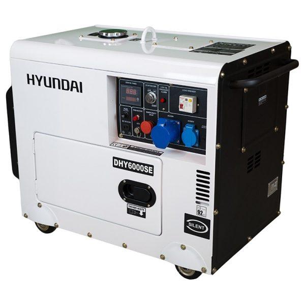 Electric generator HYUNDAI DHY6000SE Diesel AE