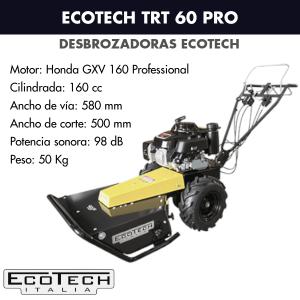 Desbrozadora de ruedas Ecotech TRT 60 PRO