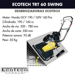 Desbrozadora de ruedas Ecotech TRT 60 Swing