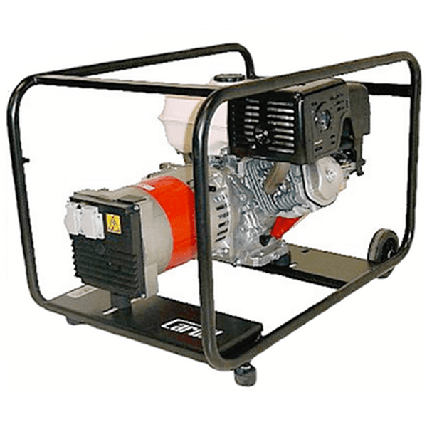 Generador Eléctrico Monofasico Carod CMH-5 AE con motor Honda GX270 con Arranque Eléctrico de Gasolina