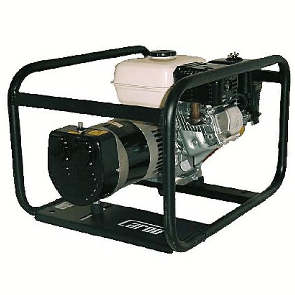 Generador Eléctrico Monofasico Carod CMH-7 AE con motor Honda GX390 con Arranque Eléctrico de Gasolina