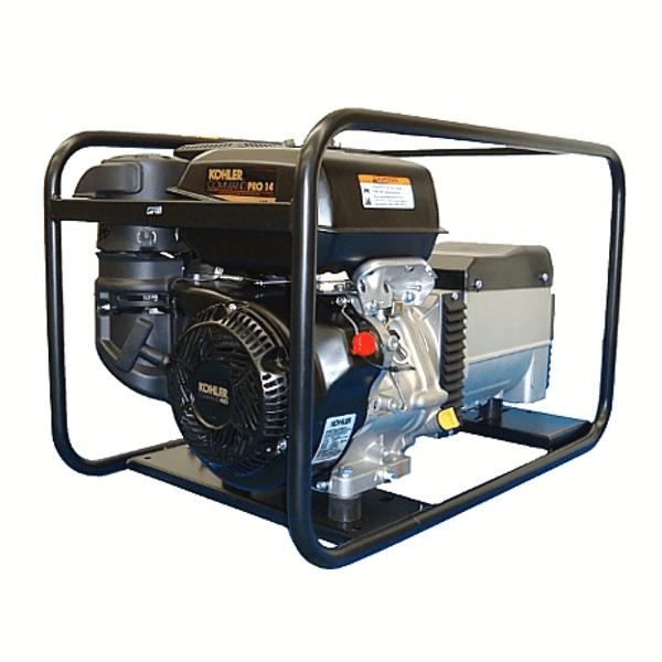 Carod CMK-7 AE Einphasenstromaggregat mit Kohler Lombardini CH440-Motor mit Benzin-Elektrostarter