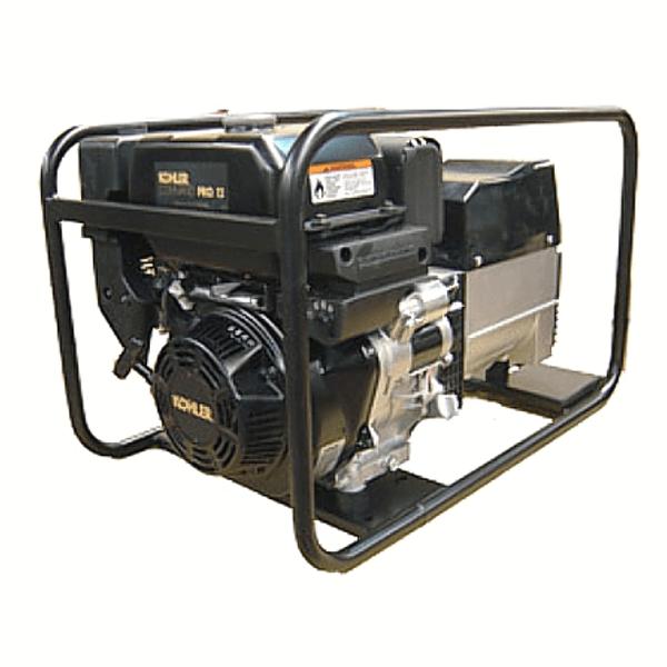Drehstromgenerator Carod CTK-8 mit Kohler Lombardini CH440 Benzinmotor
