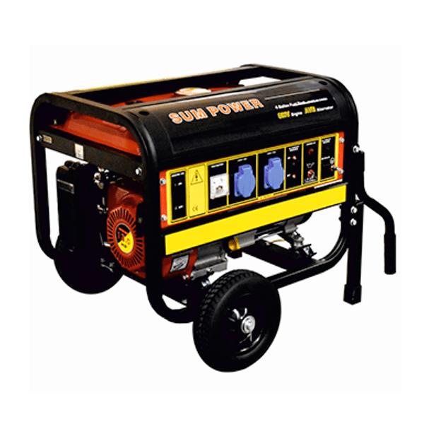 Generador Eléctrico Monofásico Carod FPG-10800E con motor Sumpower 420cc con arranque eléctrico de Gasolina