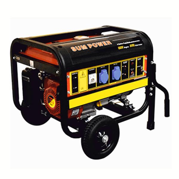 Generador Eléctrico Monofásico Carod FPG-7800E con motor Sumpower 420cc con arranque eléctrico de Gasolina