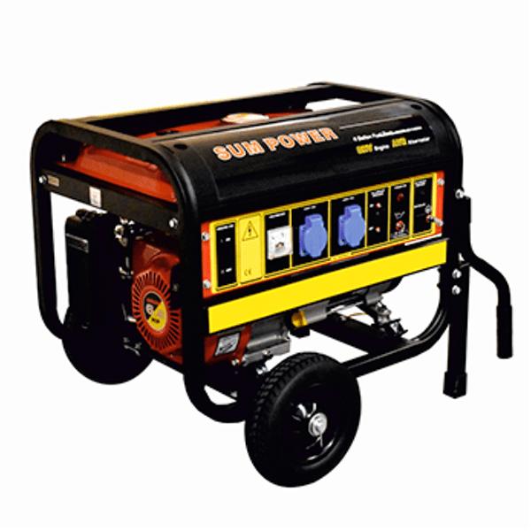 Generador Eléctrico Monofásico Carod FPG-3800 con motor Sumpower 223cc de Gasolina