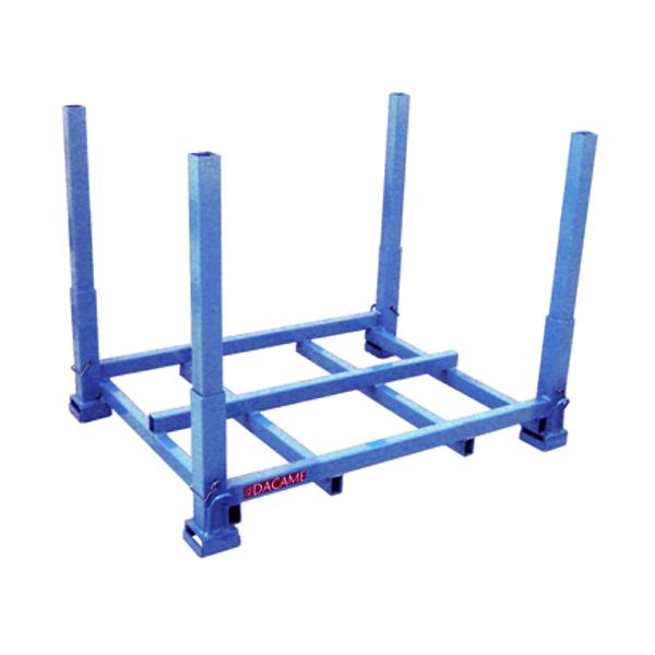 Palet Dacame para Stock Kit base (1x1,2 metros) 1200 kg + poste (1/1,2/1,5/2 metros de altura) (PT/GA)