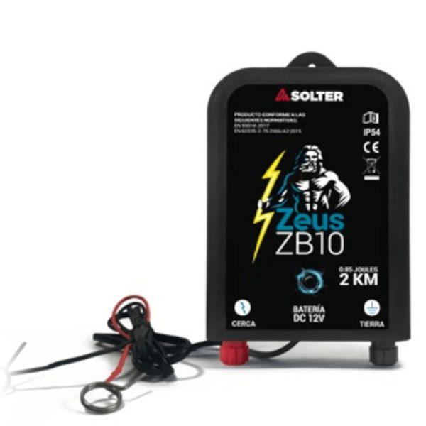 Pastor eléctrico a batería Solter ZEUS ZB-10