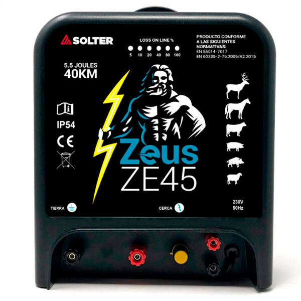 Pastor eléctrico Solter ZEUS ZE45