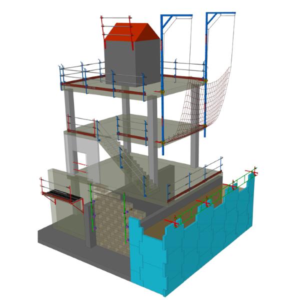 Seguridad y sistemas provisionales de protección de borde