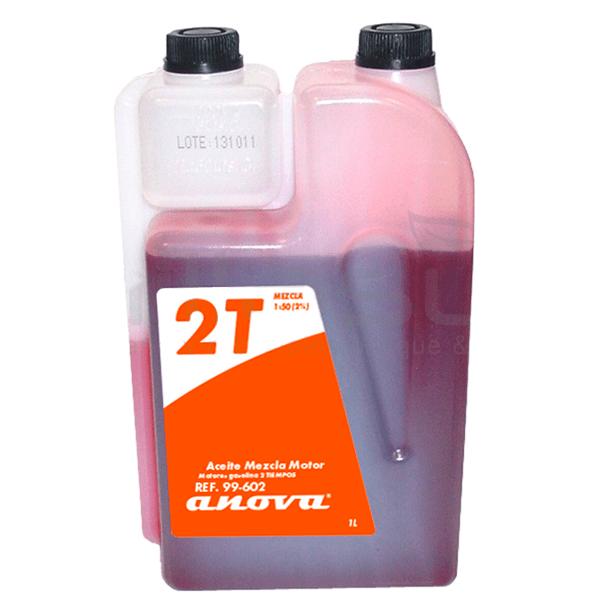 Aceite de mezcla 2 tiempos 1 Litro Anova