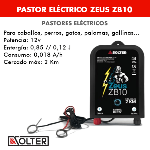 Pastor eléctrico Solter ZEUS ZB-10