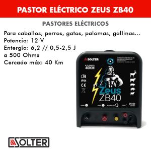 Pastor eléctrico Solter ZEUS ZB40