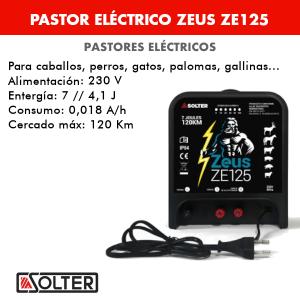 Pastor eléctrico Solter ZEUS ZE125