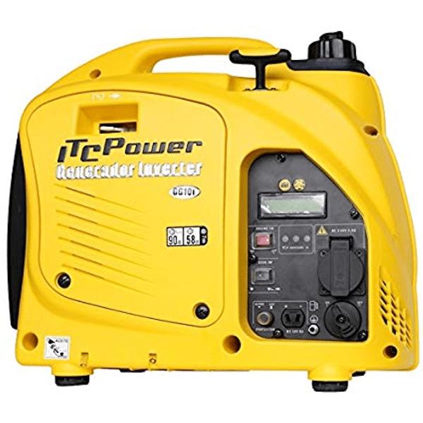 Generador Eléctrico Inverter ITC Power GG10I de Gasolina 900 W