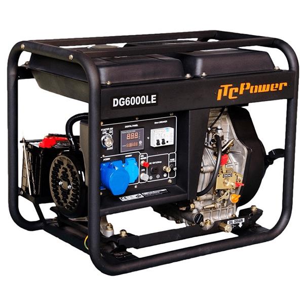 ITCPower DG6000LE Diesel Generator