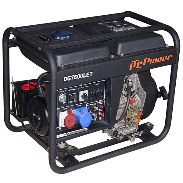 ITCPower DG7800LE Diesel Generator