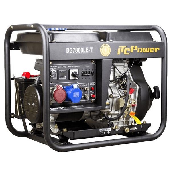 ITCPower DG7800LET Diesel Generator