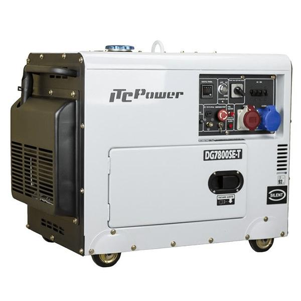 Schalldichter Dieselgenerator mit voller Leistung ITCPower DG7800SE-T