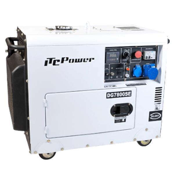 ITCPower DG7800SE 6300w Einphasen-Dieselgenerator