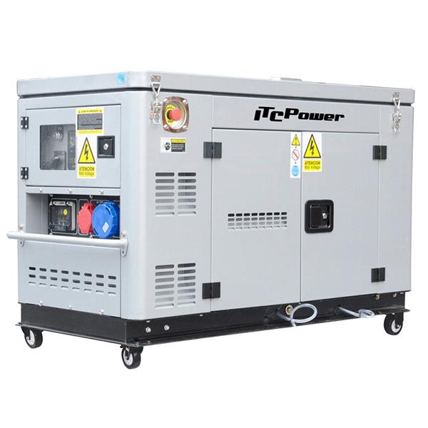 ITCPower DG12000XSET Diesel Power Generator (volle Leistung)