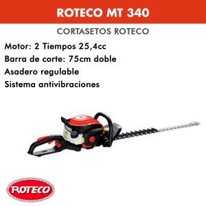 Cortasetos Roteco MT 340