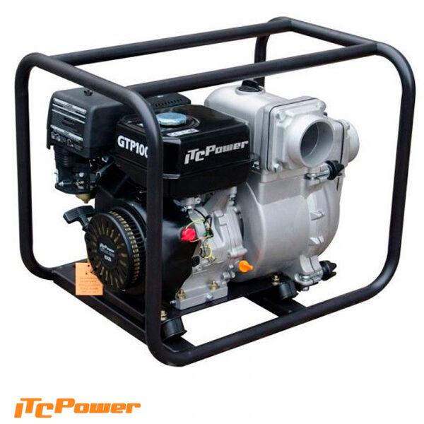 Motobomba Aguas Cargadas (Gasolina) ITCPower GTP100X