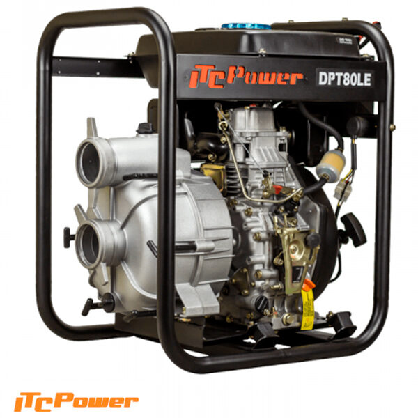 Motobomba Diesel ( Aguas Cargadas ) ITCPower DPT80LE