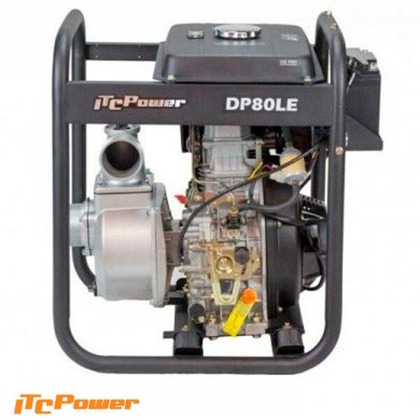 Motobomba Diesel Aguas Limpias DP80LE