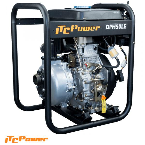 Motobomba Diesel Alta Presion ITCPower DPH50LE