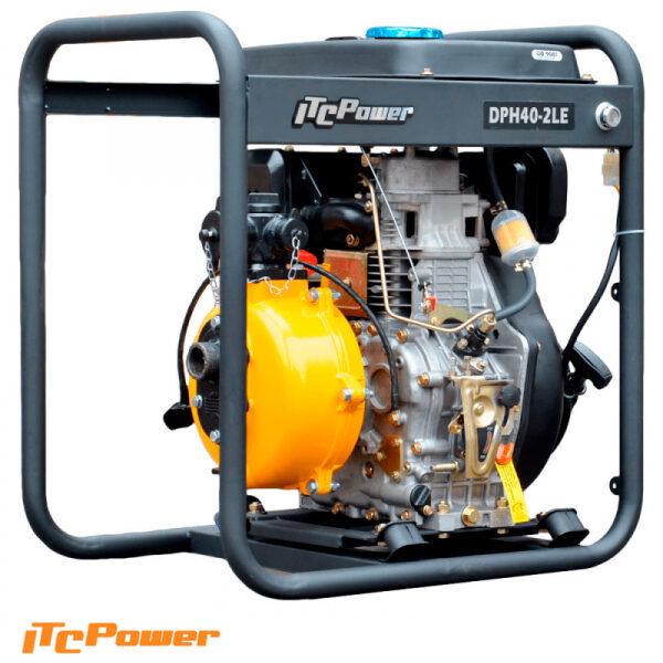 Motobomba Diesel ( Alta presión ) ITCPower DPH40LE-2
