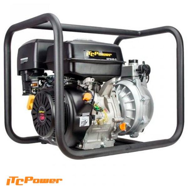 Motobomba Gasolina Alta Presión Doble Turbina ITCPower GPH40-2
