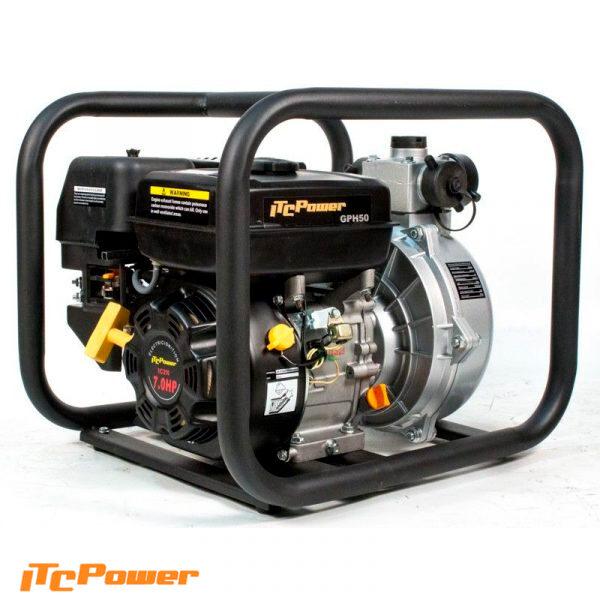 Motobomba Gasolina Alta Presión ITCPower GPH50
