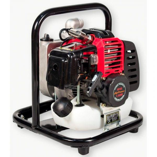 Motobomba Gasolina ITCPower Aguas Limpias de Caudal GP25-2 de 1,5 Hp, 120L/min, elevación max. 22m.