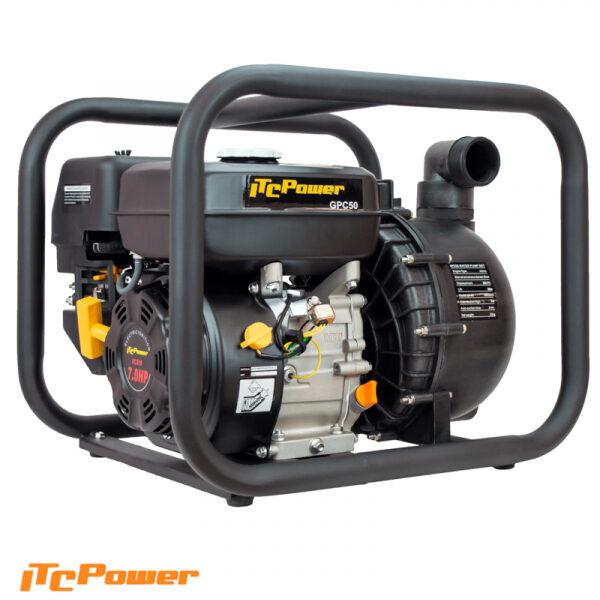 Motobomba Gasolina ITCPower Líquidos Corrosivos GPC50