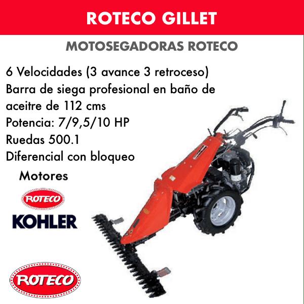Motosegadora Roteco GILLET