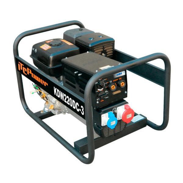 Poste à souder à essence avec alternateur LINZ KW220DC-3