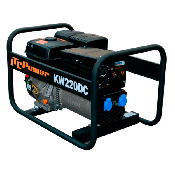 Scie à chaîne essence avec alternateur LINZ KW220DC