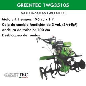 Motoazada Greentec 1WG35105